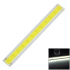 4W 400lm 6500K LED White Light Strip - Silver + Yellow (120 x 15mm)