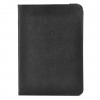 Detachable Bluetooth V3.0 59-Key Keyboard w/ Rotatable PU Leather Case for Ipad MINI - Black