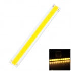 4W 400lm 3200K LED Warm White Light Strip - Silber + Gelb (120 x 15mm)