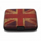 Waterproof the Union Jack Pattern Card Case Holder - Multicolored