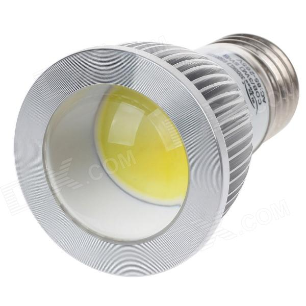ZIYU ZY-634 E27 5W 500lm 6500K COB LED White Light Lamp Bulb - Silver + White (85~265V) цена