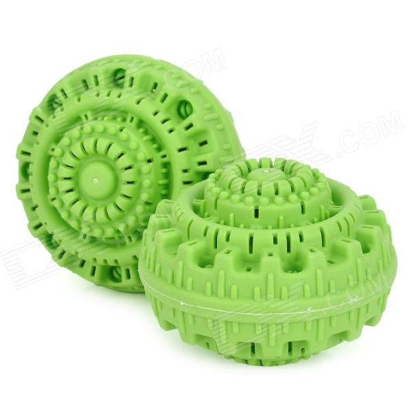 Plastic Magic Environmental Friendly Washing Balls - Green (2 PCS)