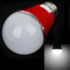 AOXIN AX-2 E27 5W 480lm 5600K 10-SMD 5730 LED White Light Lamp Bulb - Red + White (220V)