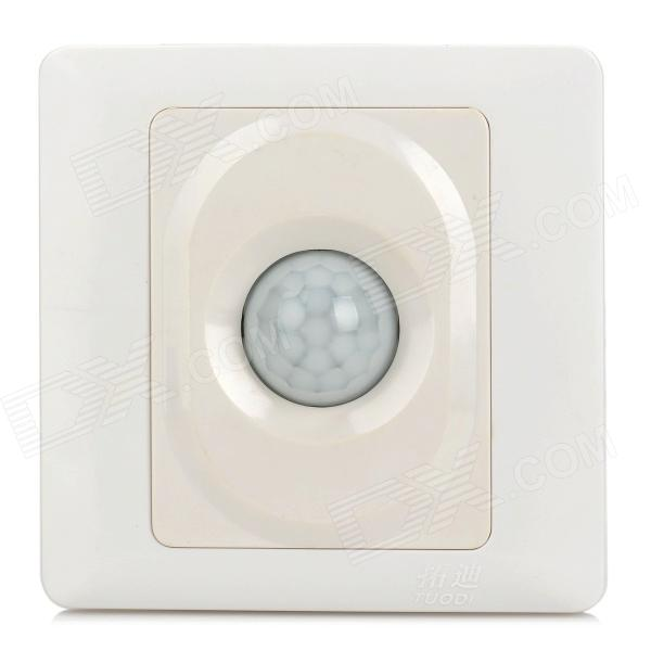 TDL-2130A Plastic Light Controlled Wall Lamp Switch - White