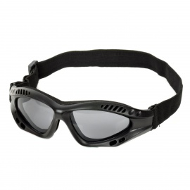 SW3065 Outdoor Tactic Sports / Exercise Protective Goggles - Black