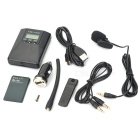 "CZE-T200 1.1"" LCD Wireless carro FM MP3 transmissor áudio Kit w / antena - preto"