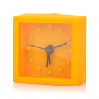 YSDX-645 Silicone Alarm Clock - Orange + Black