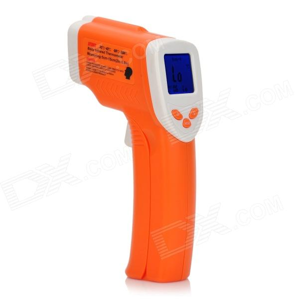 Professional Infrared Thermometer - Orange + White (32'C~42'C  /-50'C ~ 380'C) Beaumont Prokupka products