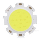 Epileds XC-7C2B 7W 630lm 6500K COB LED White Light Plate - Silver + Yellow