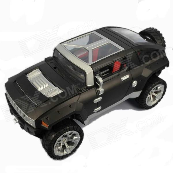 GT-330C 2-Channel Remote Controlled Video Off-road Vehicle - Black + Silver + Translucent + Red 9099 20e r c 4 channel ir controlled wall climber vehicle model toy yellow blue black