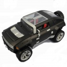 GT-330C 2-Channel Remote Controlled Video Off-road Vehicle - Black + Silver + Translucent + Red