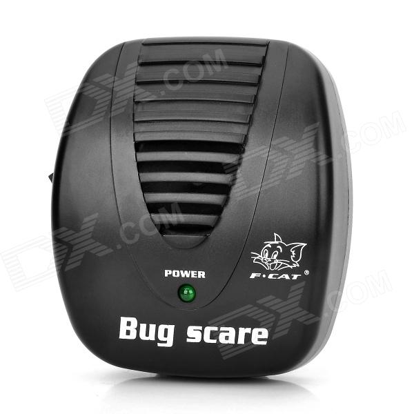 Mini Ultrasonic Rat Cockroach Mosquito Repeller - Black (2-Flat-Pin Plug / 180~250V /  90~110V) rat model ii folder sp black handle