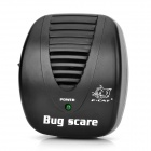 Mini Ultrasonic Rat Cockroach Mosquito Repeller - Black (2-Flat-Pin Plug / 180~250V /  90~110V)