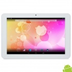 MID ZM1124 10.1 Quad Core Android 4.2 Tablet PC w/ 1GB RAM / 16GB ROM / HDMI  - Silver Grey + White