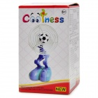 USB/3*AA Powered Soccer Robot Oscillating Cooling Fan