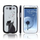 ENKAY Sexy Lady Pattern Protective PC Back Case for Samsung Galaxy S3 i9300 - Multicolored