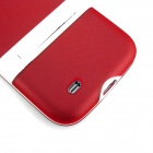 ENKAY Protective Soft TPU + Hard Plastic Back Case Stand for Samsung Galaxy S4 i9500 - Red