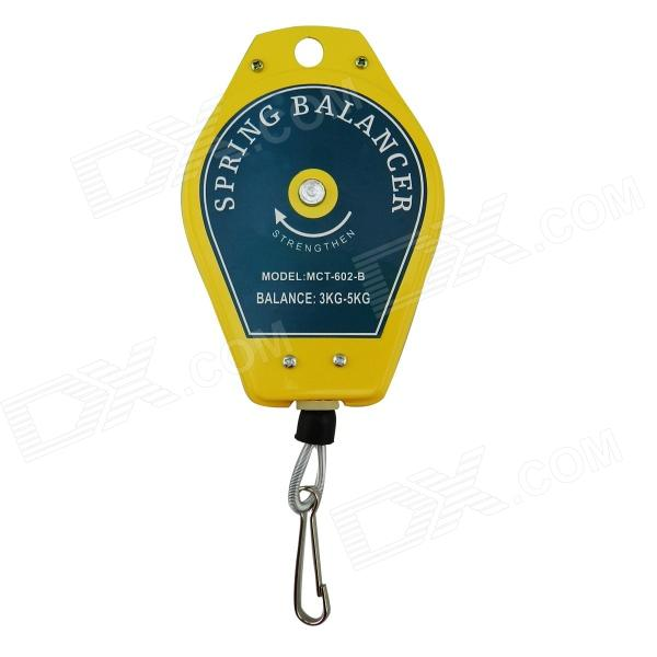 MCT-602-B Spring Balancer for Electronic Screwdriver / Hardware Tools / Measurement Tools - Yellow improved quality spring balancer for hanging wrench screwdriver tools not include the custom tax