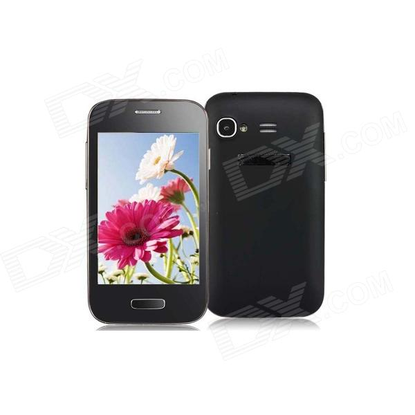 "9500 Mini Android 4.1 GSM Bar Phone w/ 3.5"" Capacitive Screen, Wi-Fi, Quad-Band - Black"