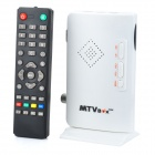 MTVBOX Digital Video Analog Television Receiver Box Supporte CRT / LCD Monitor - Blanc