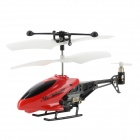 1210 Rechargeable 3.5-CH IR Control Simulation R/C Helicopter for iPhone - Red + White + Black