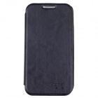 KEVA 2400mAh External Battery PU Leather Back Case Cover for Samsung Galaxy S4 i9500 - Black