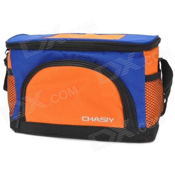 Car Mini Nonwoven Fabric + PVC Warm Keeping / Freezing Hanging Storage Bag - Black + Blue + Orange