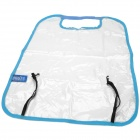 Polyester + PVC Car Chair Back Cover / Pad - Blue + Transparent