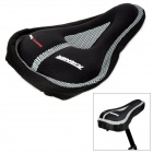 TURNER A04 Soft Silicone Cushion Lycra Bicycle Seat Pad Saddle - Black