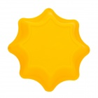 DIY Silicone Octagon Style Bread Cake Baking Mould - Yellow