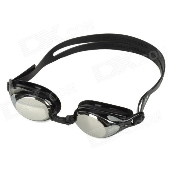 Aryca 2 Diopters Silicone + PC Swimming Goggles - Black