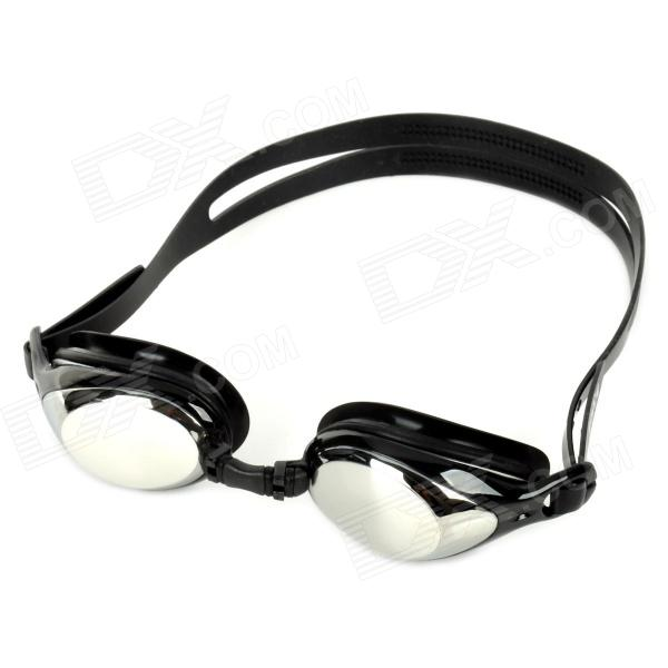 Aryca 2.5 Diopters Silicone + PC Swimming Goggles - Black