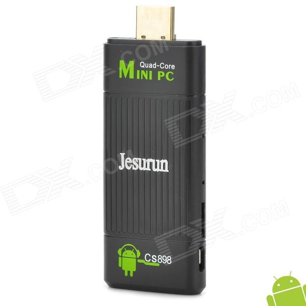 Jesurun CS898 Quad-Core Android 4.1 Mini PC Google TV Player w/ 2GB RAM / 8GB ROM / XBMC / Netflix