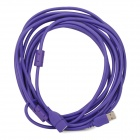 USB 2.0 Male to Female Data Extender Cable - Purple (5m)