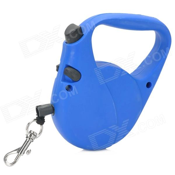 052617 Automatic Retractable Pet's Dot Cat Leash - Blue (3m)