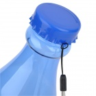 2802 Unbreakable Plastic Sports Water Bottle - Blue (550 ML)