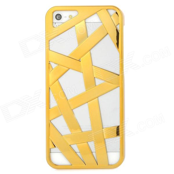 Bird Nest Style Protective Plastic Back Case for Iphone 5 - Golden аксессуар аккумулятор lenovo bl210 partner 2000mah пр034367