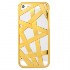 Bird Nest Style Protective Plastic Back Case for Iphone 5 - Golden