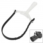 Varavon Plastic 5D2 Adjustable Sling Follow Focus Ring for SLR Camera - Black + Transparent