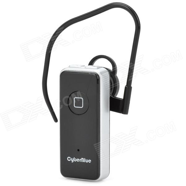 BSH 09I Elegant Bluetooth v3.0 Ear Hook Headset w/ Microphone - Black + Silver