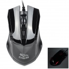 FC-5150 Wires USB 2.0 Optical 3200 / 2400 / 1600 / 800dpi Gaming Mouse - Black (135cm-Cable)