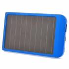 P2600 Universal 2600mAh Solar Energy Powered Charger - Blue