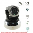 EYE SIGHT ES-IP909IW H2.64 720P P2P WIFI Internet Network IP Security Camera w/ Night Vision - Black