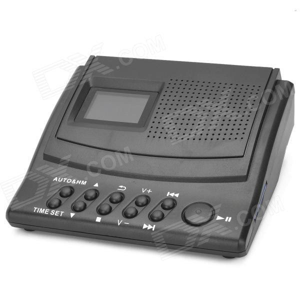 LY008 Portable 1.5 LCD Telephone Recording Box w/ SD - Black (1 x CR2032) автоакустика kenwood kfc ps704p