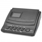 "LY008 Portable 1.5"" LCD Telephone Recording Box w/ SD - Black (1 x CR2032)"