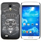 Cool 3D Skull Pattern Protective Plastic Back Case for Samsung Galaxy S4 i9500 - Black
