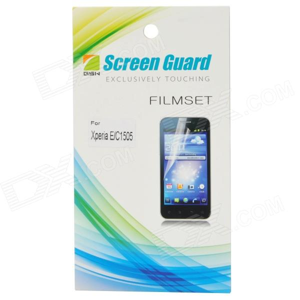 Handy Clear Protective PE Screen Film for Sony C1505 - Transparent