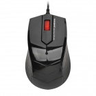 Motospeed F301 Wired USB Gaming Optical Mouse - Black