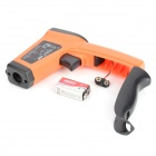 DT85811H Non-Contact Digital Infrared Thermometer w/ Laser - Orange + Black
