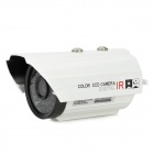 "JN-2373FM 1/4"" CMOS 800 Lines Waterproof Surveillance Security Camera w/ 36-IR LED - White + Black"